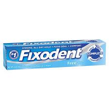 Fixodent Free Original Cream 2.4oz