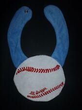 "NEW Carter's Baseball  ""Lil Slugger"" Baby Boys Terry Cloth Teething Drool Bib"