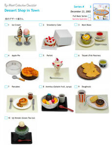 Re-ment 1st Year Launched - Dessert Shop - Whole Set or Buy Individually - New
