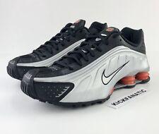 Nike Shox R4 OG Retro Men's 10.5 Black Silver Red BV1111-008 Running Shoes New