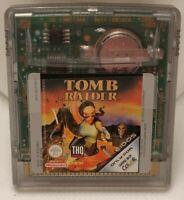 Tomb Raider Lara Croft Original Nintendo Gameboy Color Spiel (GBA, GBC)