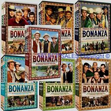 New 62 DVD BONANZA FIRST SECOND THIRD FOURTH FIFTH SIXTH SEVENTH SEASON SET