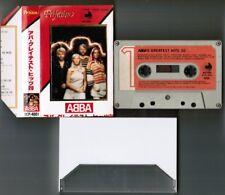 ABBA ABBA's Greatest Hits 20-Perfection JAPAN CASSETTE DCP-4001 Broken SLIP CASE
