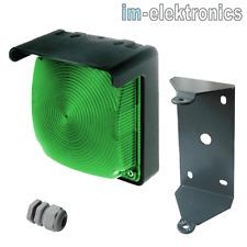 Led Lámpara de Señal Verde 24V/230V Luz Intermitente Puerta Accionamiento Garaje