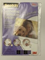 "Scotch Self-Sealing Laminating Pouches 5/Pkg-4""X6"" Photo Safe Acid Free NEW"