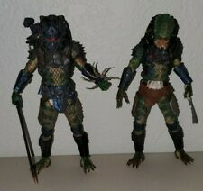 Neca Lost Tribe Predator Borg Armored 7 Inch Scale Figure Lot Authentic