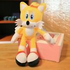 Super Sonic The Hedgehog Tails Plush Doll Stuffed Animal Toys 10in Kids Gift Toy