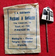 ORIGINAL FASCIST PARTY ENAMELLED BADGE O.N.D. OPERA NAZIONALE DOPOLAVORO PNF #5