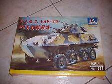 ITALERI  U.S.M.C. LAV-25 PIRANHA  PLASTIC MODEL 1/35