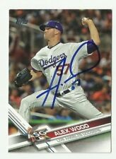 Los Angeles Dodgers ALEX WOOD  Signed 2017 Topps Update Card #US257