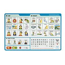 EZ Patient Communication Board Picture Board 1 ea