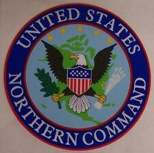 Window Bumper Sticker Military United States Northern Command NEW Decal