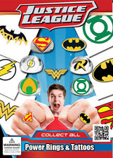 Vending Machine $0.25/$0.50 Capsule Toys - DC Comic Power Rings & Tattoos
