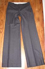 Banana Republic Jackson fit charcoal gray wool dress pants size 4