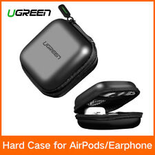 UGREEN Headphone Case Bag Earbud Hard Box Storage fr Memory Card Cable Organizer
