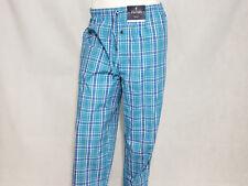 678b7914b9 Stafford Mens Regular Fit Sleep Pant Pajama Lounge Pants Blue Plaid XXL 2xl