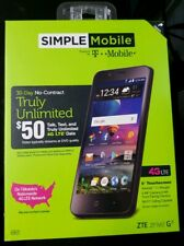 "Brand New Simple Mobile ZTE ZFIVE G 16GB 5"" 5MP Android Smartphone"