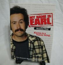My Name is Earl Season 1 4-Disc DVD Jason Lee Jaime Pressly Nadine Velasquez