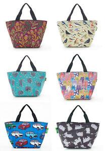 Eco Chic Foldable & Extendable Cool Bag / Lunch Bag / Sandwich Bag / Picnic Bag