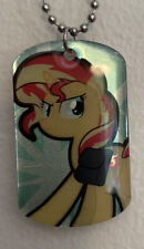 2015 My Little Pony Friendship is Magic Sunset Shimmer Dog Tag #26 [Loose]