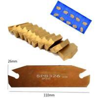 SPB26-3 26mm Width Grooving Blade w/10pcs GTN-3 SP300 Cut-Off Grooving Inserts