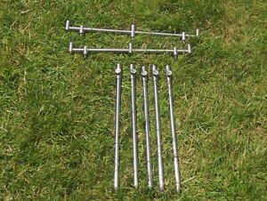 matrix 3 rod buzz bars and 5 adjustable bank sticks.