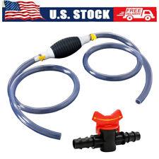 Car Fuel Tank Sucker Oil Transfer Car Fuel Pump Liquid Manual Pump Pvc Hoses Us