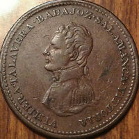 1813 LOWER CANADA ONE PENNY TOKEN BRETON 984