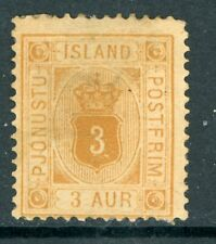 Iceland 1876 Official 3a Scott #O4 Mint N971