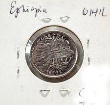 "1977 Ethiopia coin 1 Cent  "" LION """