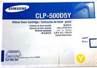 Genuine Samsung CLP-500D5Y Yellow Toner for CLP-500, CLP-500N, CLP-550, printers