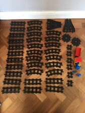 Lego Duplo Train Track Black  Points Crossovers Collection Joblot