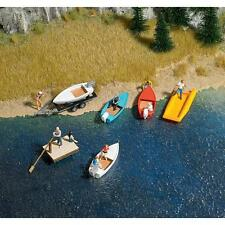 busch 8057 Boat & Raft Set spur n 1:160