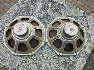 2 X Lautsprecher Philips Röhrenradio ca. 19x19cm Tube Radio