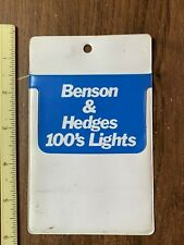 Vintage Benson & Hedges 100's Lights Pocket Protector