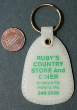1970s Holland,Massachusetts Rubys Country Store-Diner glow in the dark keychain!