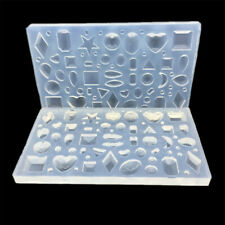 Polymer Clay Silicone Mold Resin Epoxy Geometric Moon Star Jewelry Making Tool