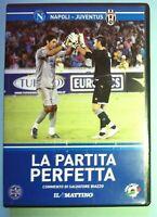 DVD LA PARTITA PERFETTA NAPOLI JUVENTUS 8-7 IL MATTINO COPPA ITALIA 2006-2007