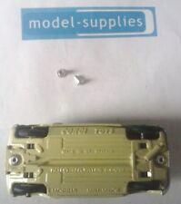 Alloy Rivet tops (2.4mm dia shaft, 5mm dia head) pack of 10