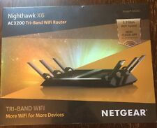 NETGEAR R8000-100NAS Nighthawk X6 AC3200 Tri-Band Gigabit Wireless Router