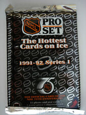 1991-92 Pro Set Hockey Cards - Series 1 - 3 Packs Of Unopened Packs
