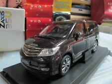 Honda Elysion MPV dark brown 1/18 model car