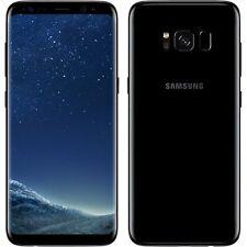 NUOVO SAMSUNG GALAXY S8 Midnight Black SM-G950F LTE 64GB 4G sbloccato di fabbrica UK