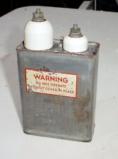 Sprague Vitamin Q 2x 0.15mfd 8000V Oil Capacitor