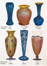 Durand Art Glass 1925-31 catalog reprint & more