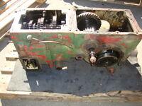 Getriebe + Differential + Zapfwelle  Hela Lanz Aulendorf D 218 Traktor Bj. 1961