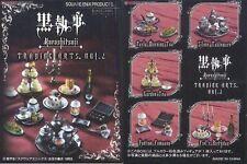 SQUARE ENIX Black Butler Kuroshitsuji Trading Arts Vol.2 MINI Tableware 5 SET