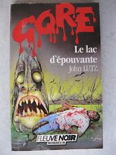 Selten Fluß Schwarz Gore-Tex 57 Le Lac D'Grusel John Lutz Horror