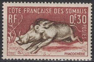 SOMALI COAST:1958 SC#271 MVLH Wart Hog