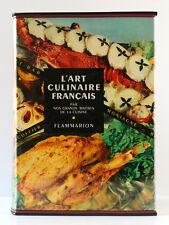 L'Art culinaire français par les Maîtres les plus réputés… Flammarion, 1956.